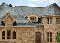 Shingles, roofing and siding, stone veneer